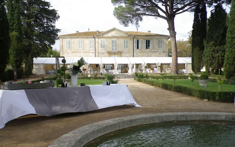 Salle de réception Château de la Mogère à Montpellier