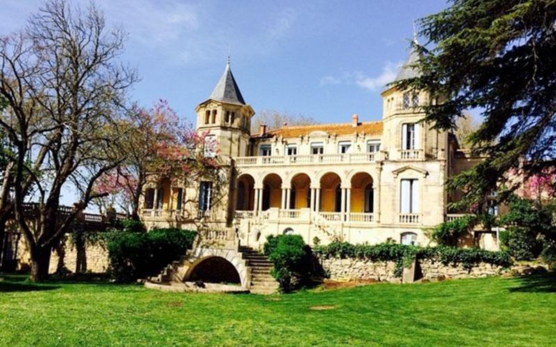 Château Sainte Cécile dans l'Héraullt