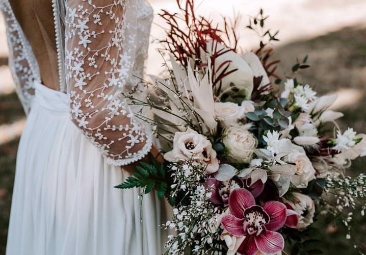 audrey VKB fleurs fleuriste Montpellier traiteur mariage Hérault