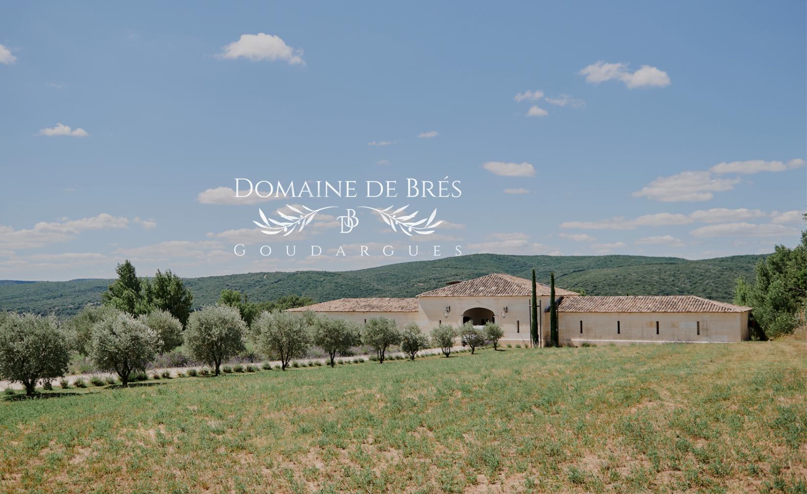 domaine de Brès Goudargues Mariage Gard Provence Château Location Réception