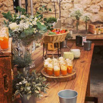 réception traiteur mariage insentive sud de france produits locaux concept atypique catering