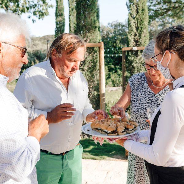 service mariage réception baptême traiteur wedding catering Foodtruck south of france